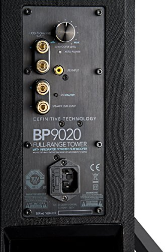 Best Definitive Technology BP9020 High-Performance Tower Speaker with Integrated 8″ Powered Subwoofer – (single speaker) (online)