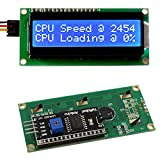 Frentaly® IIC/I2C/TWI 1602 Serial Blue Backlight LCD Module for Arduino UNO R3 MEGA2560 16 X 2, 1602 White letters on Blue display