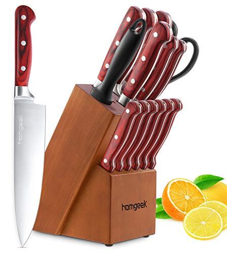 homgeek Kitchen Knife Set