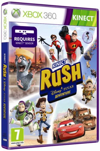 Disney Pixar Rush Xbox - Disney Kinect