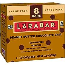 Larabar Gluten Free Bar, Peanut Butter Chocolate Chip, 1.6 oz Bars (8 Count)