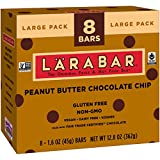 Larabar Gluten Free Bar, Peanut Butter Chocolate Chip, 1.6 oz Bars (8 Count) For Sale