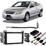 Fits Chevy Cobalt 2007-2010 Double DIN Stereo Harness Radio Install Dash Kit