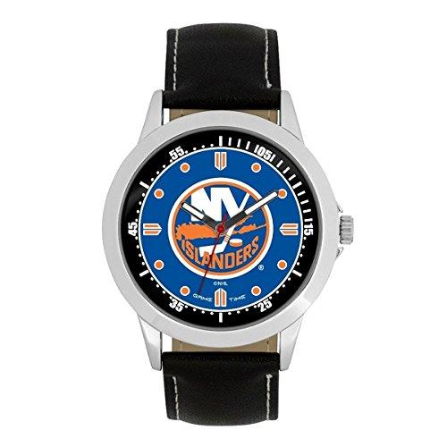NHL New York Islanders Mens Player Series Wrist Watch, Silver, One -
