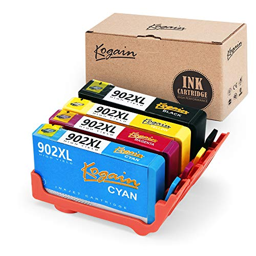 Kogain Compatible Replacement for HP 902 902XL Ink Cartridges, Works with HP OfficeJet Pro 6968 6978 6958 6962 6960 6970 6979 6950 6954 6975 Printer