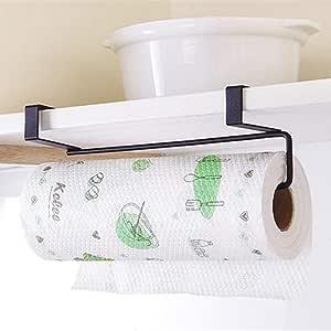 Kitchen Roll Holder Stainless Steel Paper Towel Hanger Holder Tissue Hanger Organizer Rack Under Cabinet Rack Cabinet Roll Hanging Shelf Kitchen Organization Storage