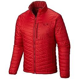Mountain Hardwear Men\'s Thermostatic Jacket, Rocket, Medium