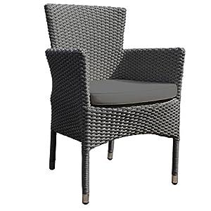 LeisureBench Oasis High Back Wicker Rattan Chair