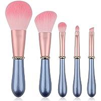 IFAN Makeup Brushes 5pcs Matte Exquisite Inlaid Diamond Makeup Brush Set Synthetic Foundation Powder Concealer Blush…