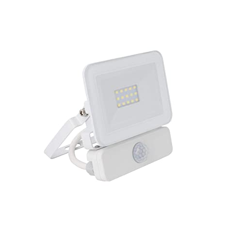 Foco Proyector LED Slim con Detector de Movimiento PIR 10W Blanco Neutro 4500K efectoLED