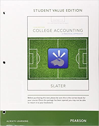Bundle: College Accounting: A Career Approach (with QuickBooks Online), Loose-leaf Version,13th + CengageNOW™V2, 1 term (6 months) Printed Access