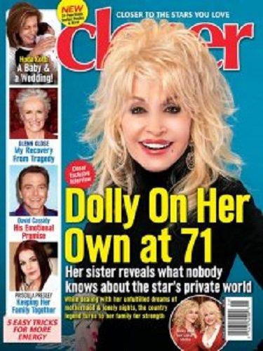 March 13  2017 Closer Magazine Dolly Parton Hoda Kotb David Cassidy Priscilla Presley Kelly Ripa