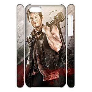 Newest Diy The Walking Dead Apple Iphone 5C 3D Cover Case
