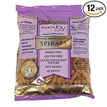 (Tinkyada Organic Spiral Brown Rice Pasta, 12 Ounce - 12 per case.)