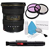 Tokina 11-16mm f/2.8 AT-X 116 PRO DX-II Lens for Canon Mount (International Model) No Warranty+Deluxe Cleaning Kit + Lens Cleaning Pen + 77mm UV Filter Bundle 3