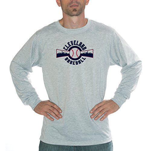 My City - Cleveland Baseball Performance Long Sleeve Shirt (Mlb Ballpark Long Sleeve)
