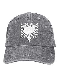 Jiuyuan Albanian Eagle Low Profile Plain Baseball Cap Vintage Washed Dad Trucker Hats