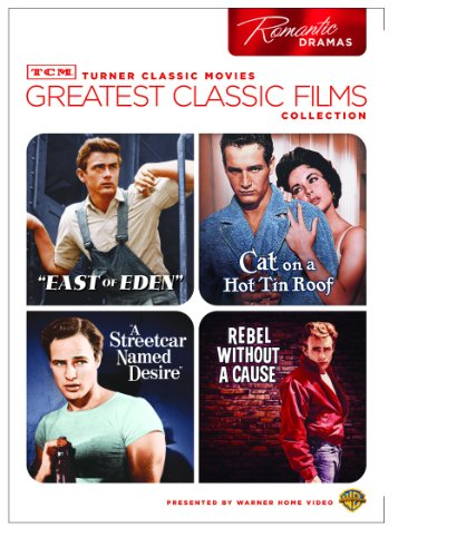 (TCM Greatest Classic Films Collection: Romantic Dramas (East of Eden / Cat on a Hot Tin Roof / A Streetcar Named Desire / Rebel Without a Cause))