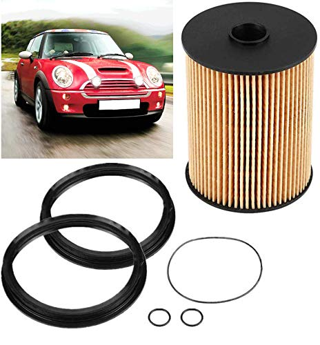 Fuel Filter Kit with O-Rings /& Seals for 2002-2008 Mini Cooper R50 R52 R53 A898 16146757196