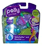 Polly Pocket Color Change Splashpillar and Rowtter Figures