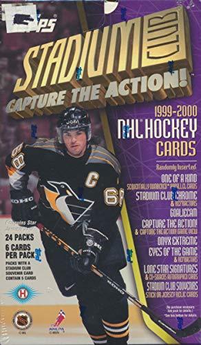 - Topps Stadium Club 1999-2000 Hockey Cards Box