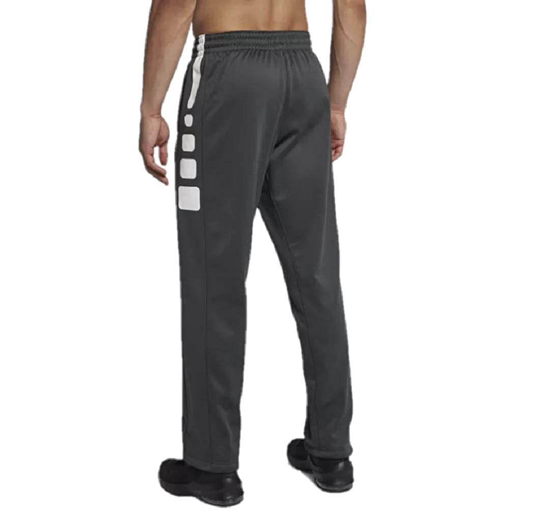 3f304d0cf4af0 Amazon.com: Nike Mens Therma-Fit Elite Basketball Pants Grey/White: Clothing