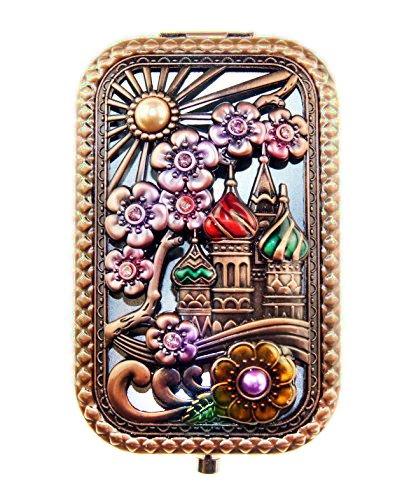 vintage mirror compact - 4