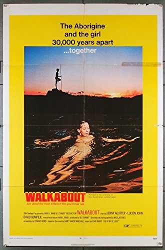 walkabout-1971-original-us-one-sheet-movie-poster-27x41-folded-good-condition-jenny-agutter-lucien-j