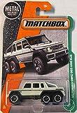 Mattel Matchbox Die-Cast MBX Explorers Mercedes-Benz G63 AMG 6X6 (White)