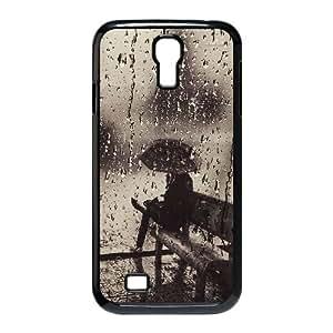 Custom SamSung Galaxy S4 I9500 Case, Zyoux DIY New Fashion SamSung Galaxy S4 I9500 Cover Case - Rainy and Umbrella