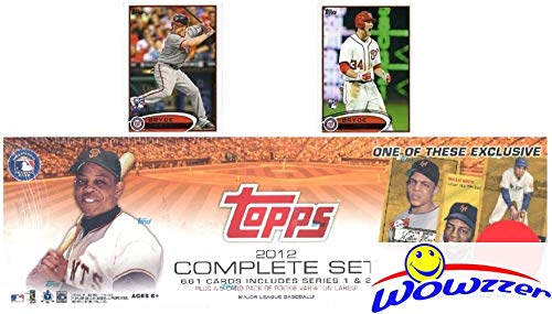 2012 Topps Baseball Exclusive 666 Card Factory Sealed Factory Retail Set with Two Bryce Harper Variation Rookie ()