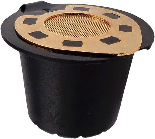 Cápsulas De Café Reutilizables Recargables Cápsulas Filtro De Plástico Para Cafetera: Amazon.es: Hogar