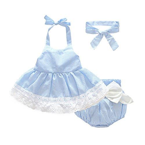 Blue Plaid Seersucker Skirt - 7
