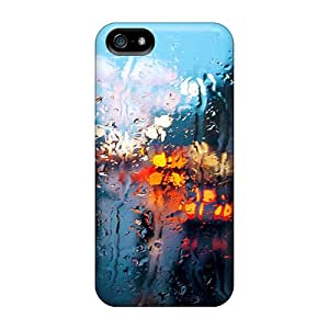 AMGake Design High Quality Rainy Lights Cover Case With Excellent Style For Iphone 5/5s