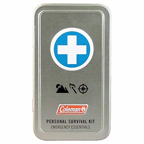 Coleman Personal Survival First Aid Kit 74-Piece, Metal Tinplate (Personal Emergency Kit compare prices)