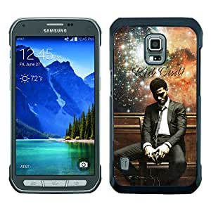 Great Quality Samsung Galaxy S5 Active Case ,Kid Cudi Black Samsung Galaxy S5 Active Cover Case Hot Sale Phone Case Unique And Beatiful Designed