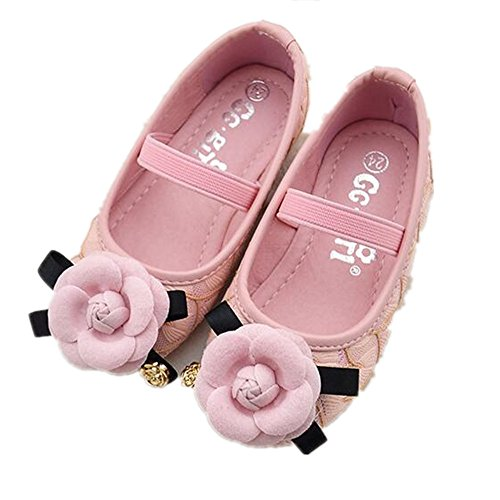 Pink-34//2.5 M US Little Kid Kids Casual Canvas Slip on Shoes Fashion Shoes