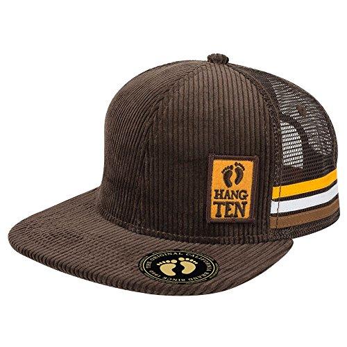 Hang Ten Corduroy Trucker Cap