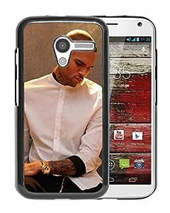 Custom Luxury Cover Case With chris brown x Black Moto X Case