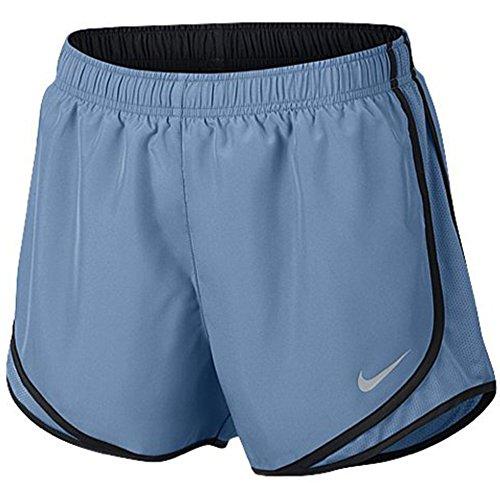 Running Nike Fit Shorts Tempo Dri Women (NIKE Women's Dri-Fit Tempo Running Shorts (Light Blue/Black, XS x 3))