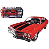 Autoworld AWSS109 1970 Chevrolet Chevelle SS 454 Red Jack Reacher Limited to 1250 Piece 1-18 Diecast
