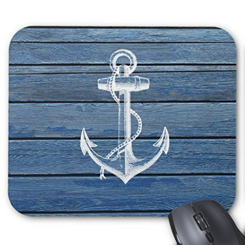 lisakim-white-anchor-and-vintage-blue-wood-officegaming-rectangle-mouse-pad-in-250mm200mm3mm