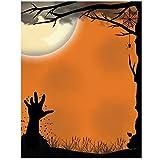 Awakening Halloween Letterhead Laser & Inkjet Printer Paper, 100 pack