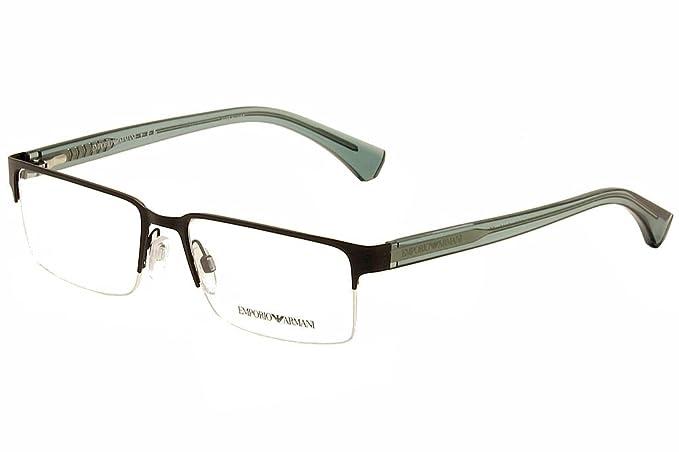 011cd33c827f Image Unavailable. Image not available for. Colour  Eyeglasses Emporio  Armani EA 1037 3114 MATTE GUNMETAL