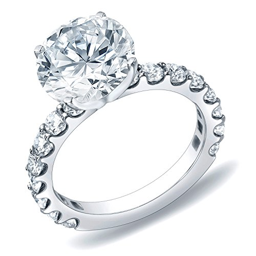IGI Certified 14k Gold Round-Cut Diamond Engagement Ring (2 cttw, H-I, SI1-SI2) Size 4-9