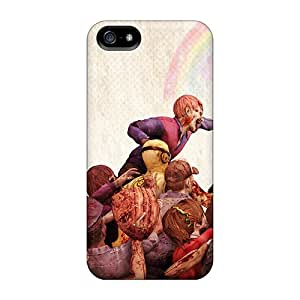 Protective Tpu Case With Fashion Design For Iphone 5/5s (lollipop Chainsaw Zombie Game)