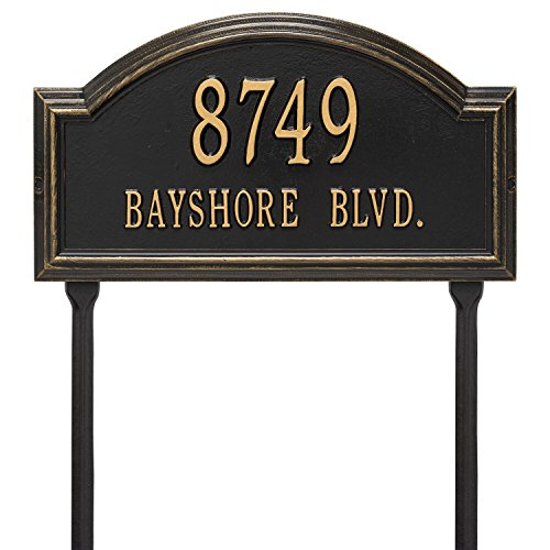 Providence Two-Line Arch Lawn Marker Sign