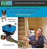 EcoNet Controls EVC200-HCXL The Bulldog Valve Robot, Z-Wave Water Valve, Smart Home, No Plumbing, 1.25'' & 1.5'' (Extra Large)