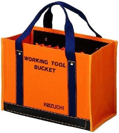 コヅチ(KOZUCHI) 6号防水帆布 ワーキングツールバック 大 オレンジ TS-11 BOR