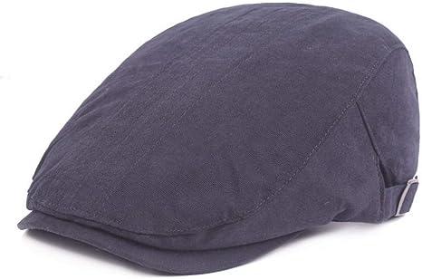 KCJMM-HAT Sombreros Gorras Boinas Simple Flat Cap, Sombrero de ...